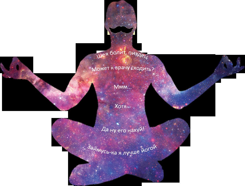 Комплекс йоги от боли в шее - 1